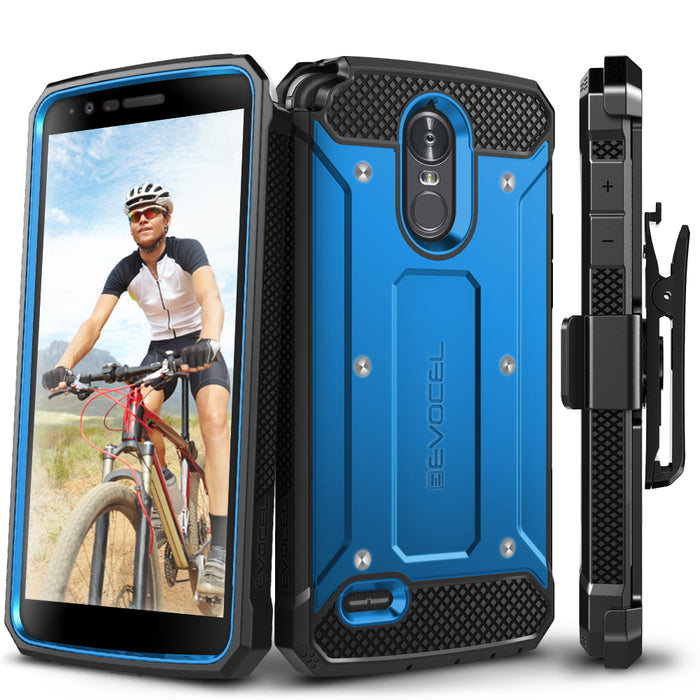 Evocel LG Stylo 3 Explorer Series Blue Case