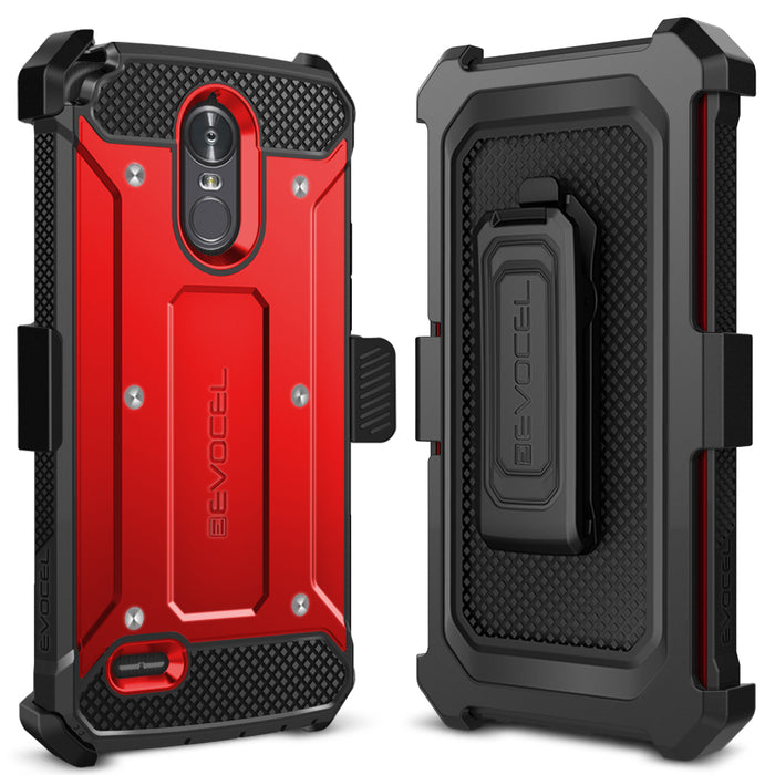 Evocel LG Stylo 3 Explorer Series Red Case