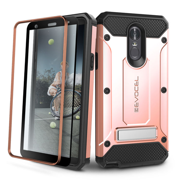 Evocel LG Stylo 4 Explorer Series Pro Rose Gold Case