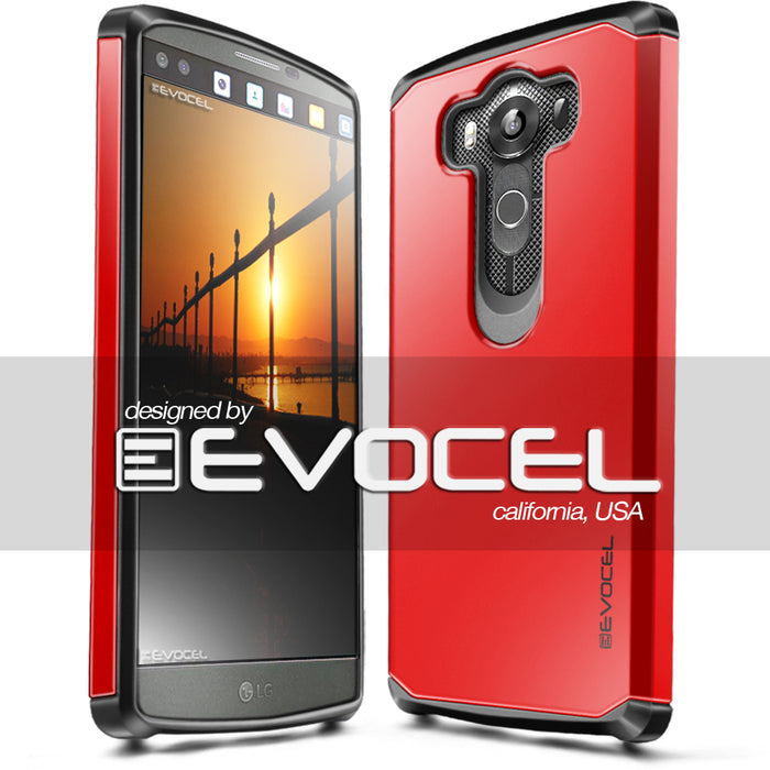 Evocel LG V10 Armure Series Red Case