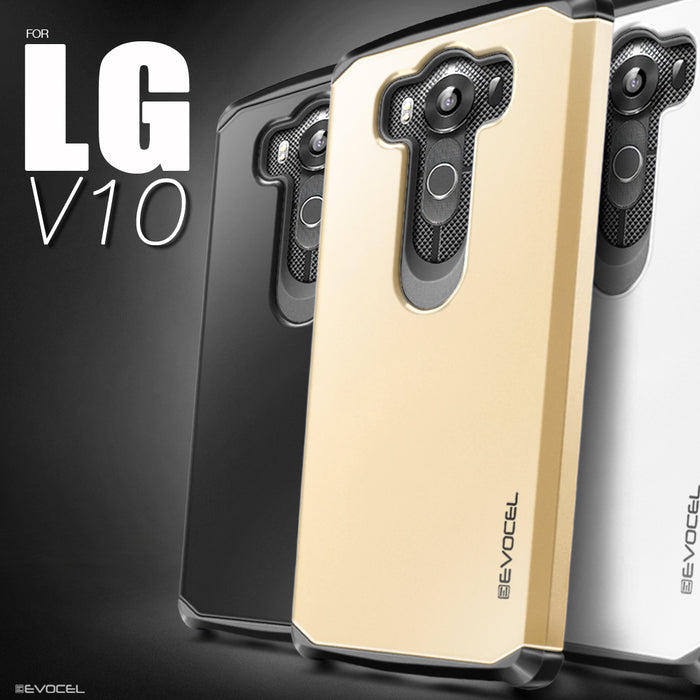 Evocel LG V10 Armure Series Black Case