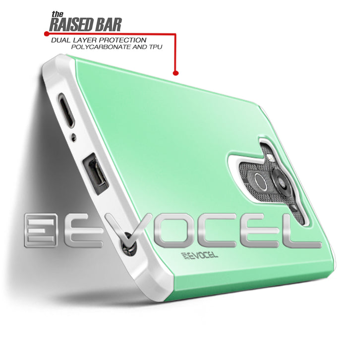 Evocel LG V10 Armure Series Green Case