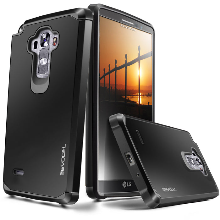 Evocel LG G Vista 2 Armure Series Black Case