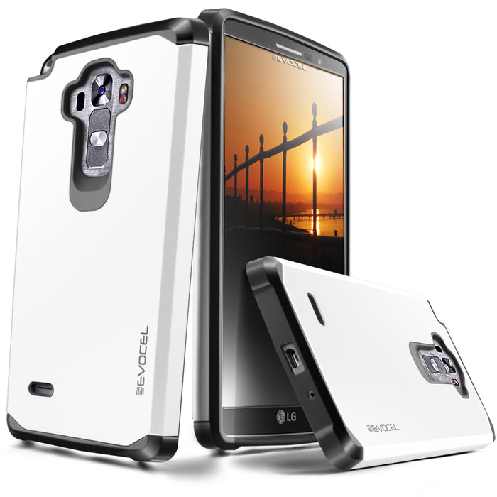 Evocel LG G Vista 2 Armure Series White Case