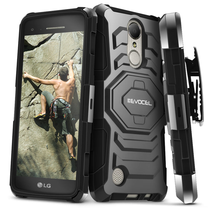 Evocel LG Aristo New Generation Series Black Case