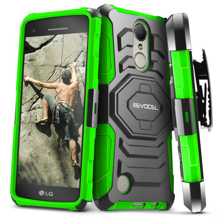 Evocel LG Aristo New Generation Series Green Case