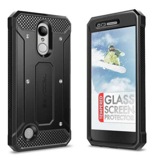Evocel LG Aristo Explorer Series Black Case