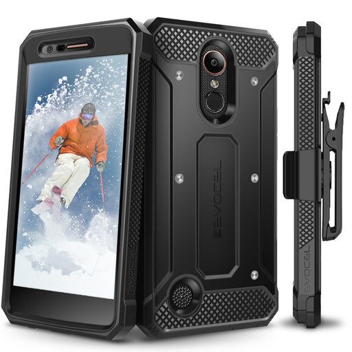 Evocel LG K20 Plus Explorer Series Black Case