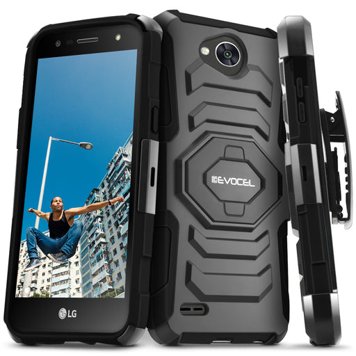 Evocel LG X Power 2 New Generation Series Black Case