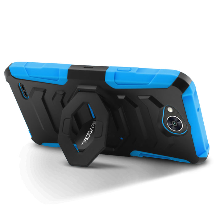 Evocel LG X Power 2 New Generation Series Blue Case