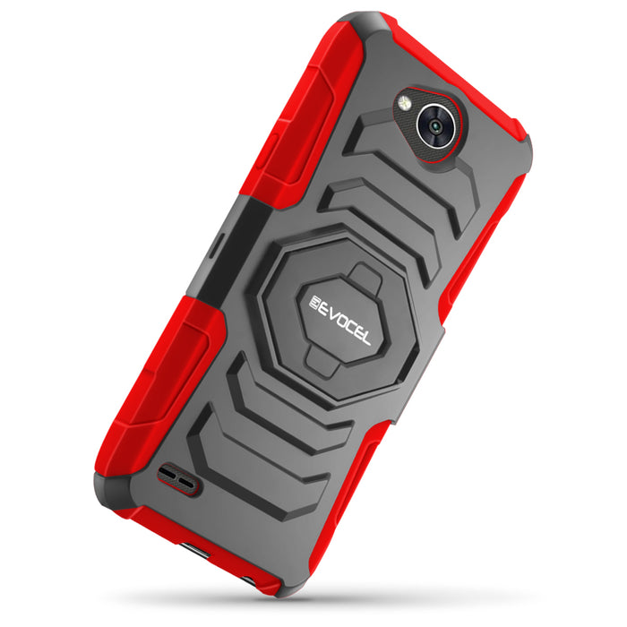 Evocel LG X Power 2 New Generation Series Red Case