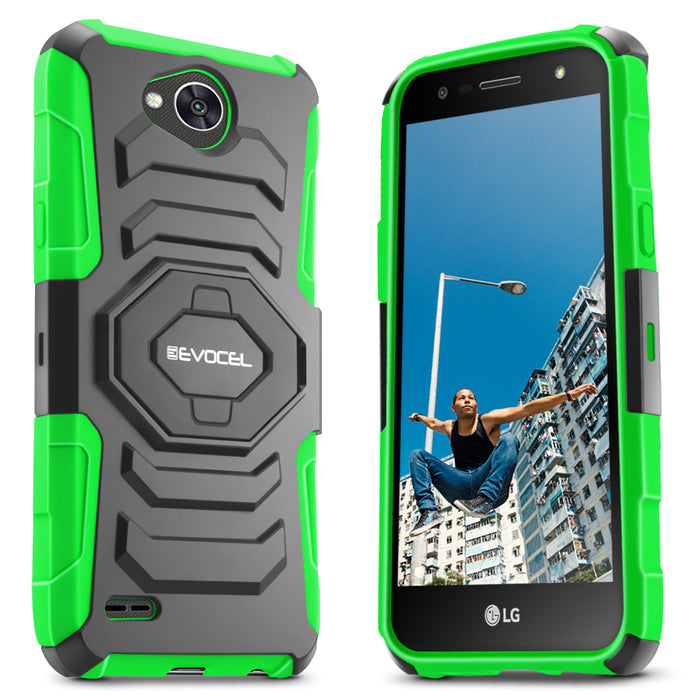 Evocel LG X Power 2 New Generation Series Green Case