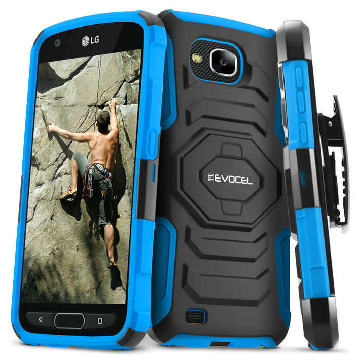 Evocel LG X Venture New Generation Series Blue Case