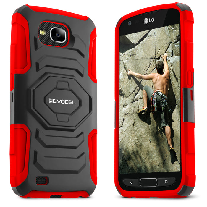Evocel LG X Venture New Generation Series Red Case