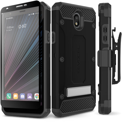 Evocel LG Escape Plus Explorer Series Pro Black Case