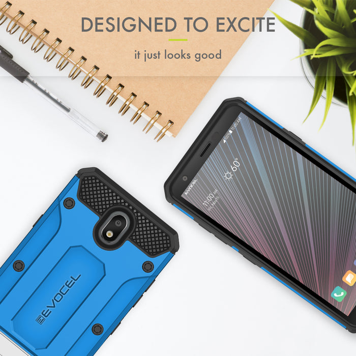 Evocel LG Escape Plus Explorer Series Pro Blue Case