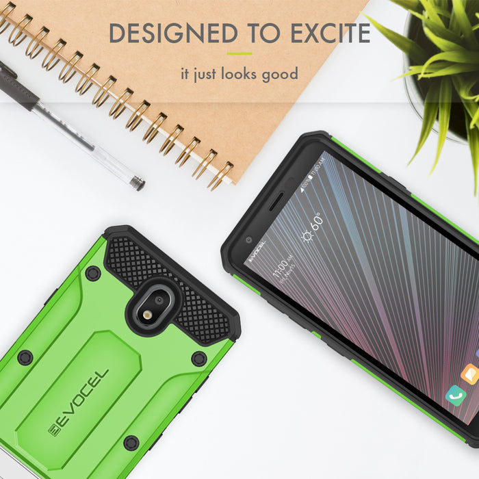 Evocel LG Escape Plus Explorer Series Pro Green Case
