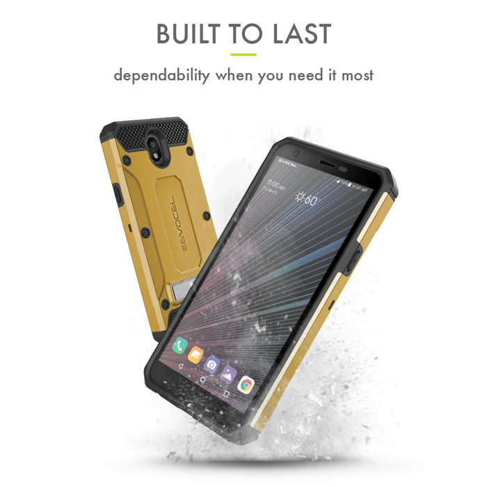 Evocel LG Escape Plus Explorer Series Pro Gold Case