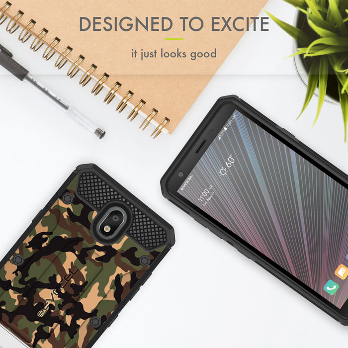 Evocel LG Escape Plus Explorer Series Pro Camouflage Case