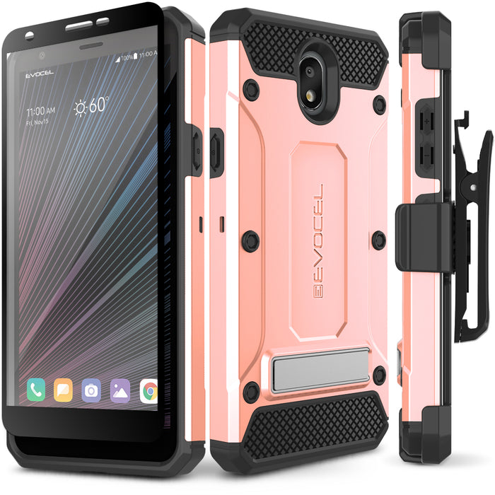 Evocel LG Escape Plus Explorer Series Pro Rose Gold Case