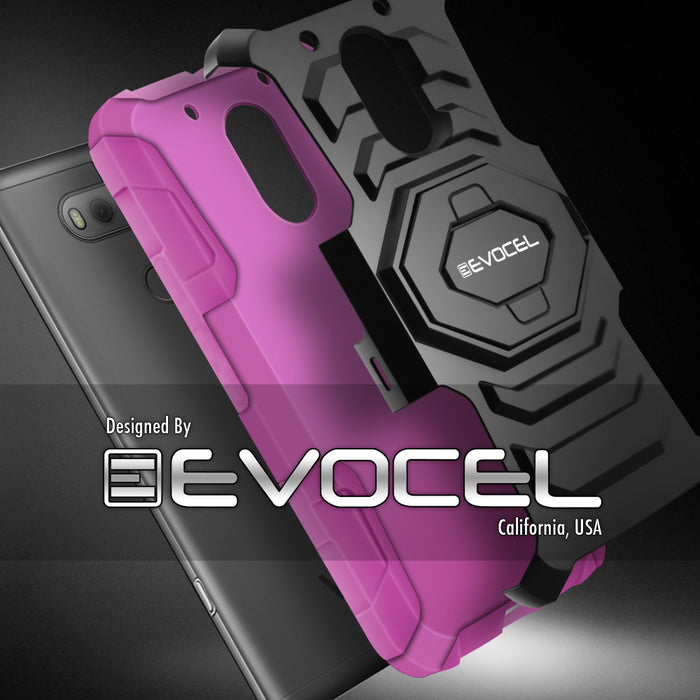 Evocel Motorola Moto E3 New Generation Series Pink Case