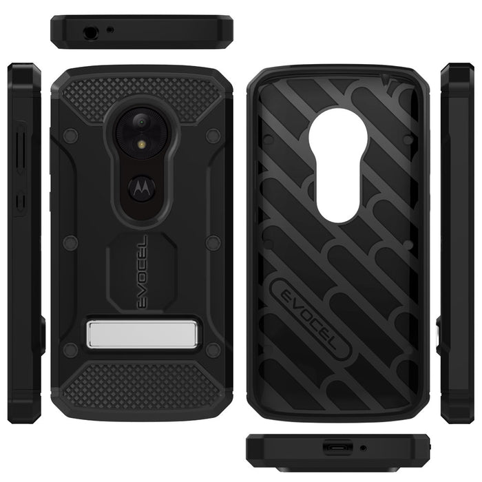 Evocel Motorola Moto E5 Play Explorer Series Pro Black Case