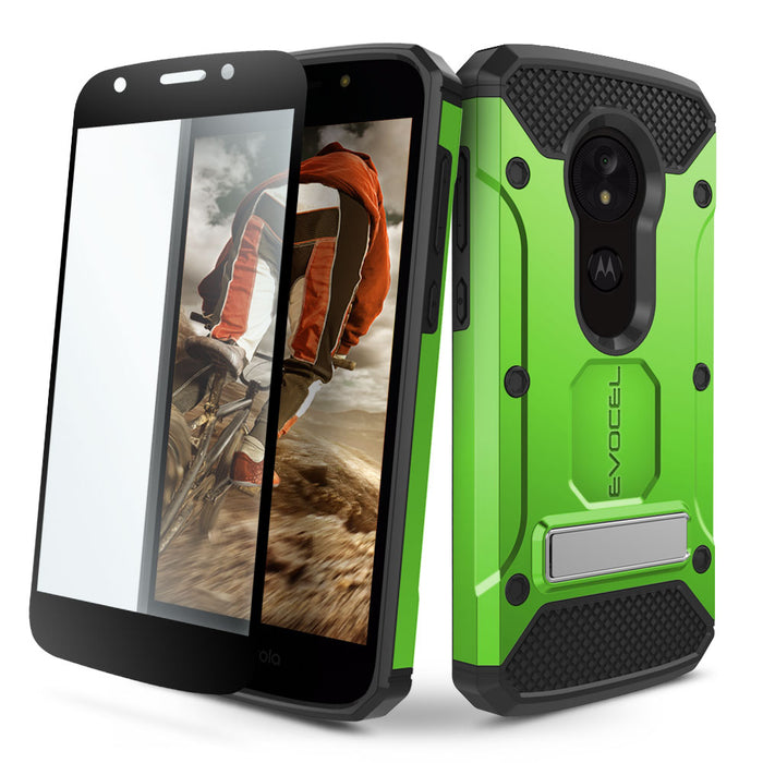 Evocel Motorola Moto E5 Play Explorer Series Pro Green Case