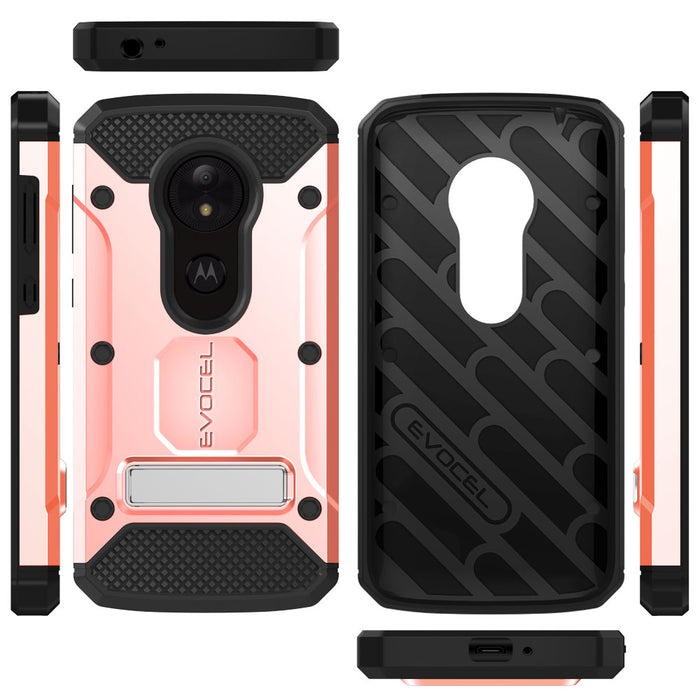 Evocel Motorola Moto E5 Play Explorer Series Pro Rose Gold Case