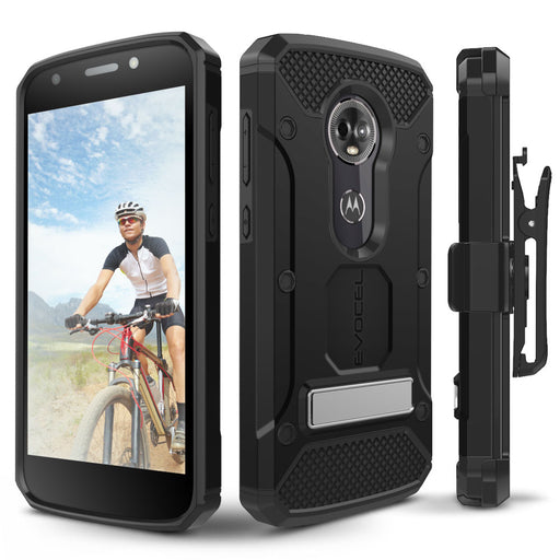 Evocel Motorola Moto E5 Plus Explorer Series Pro Black Case