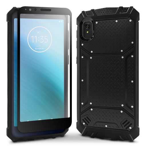 Evocel Motorola Moto E6 Magnext Series Black Case