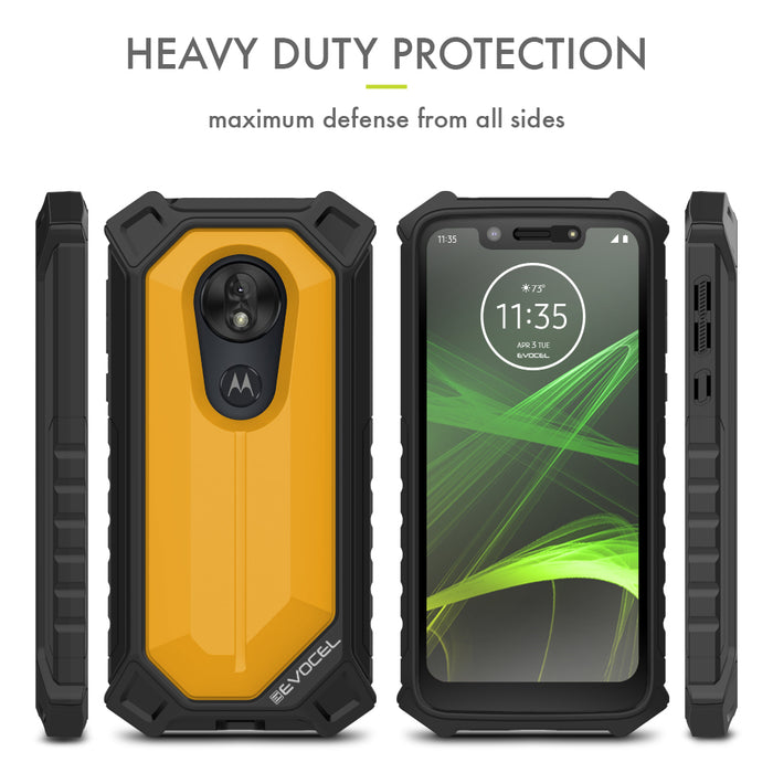 Evocel Motorola Moto G7 Play EvoGuard Yellow Case
