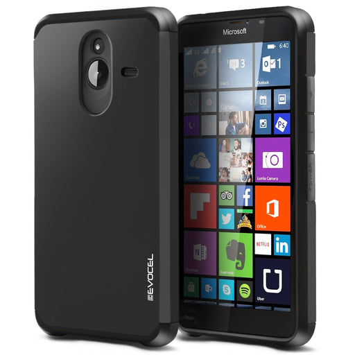 Evocel Microsoft Lumia 640XL Armure Series Charcoal Case
