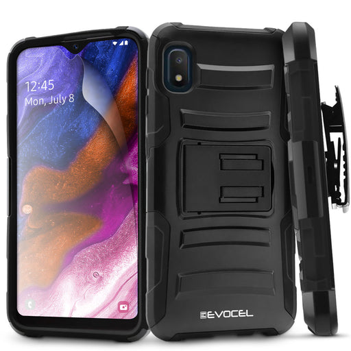 Evocel Samsung Galaxy A10E Generation Series Black Case