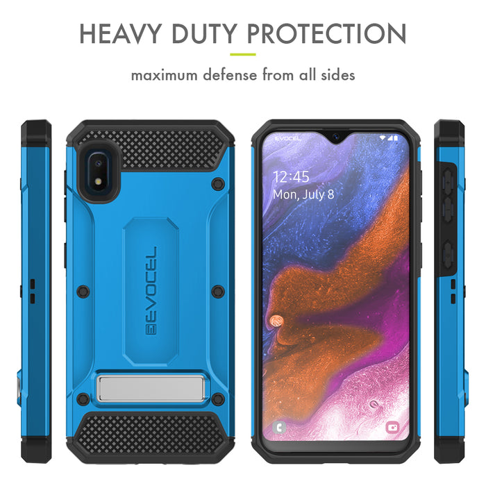 Evocel Samsung Galaxy A10E Explorer Series Pro Blue Case