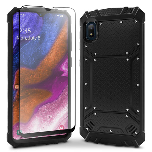 Evocel Samsung Galaxy A10E Magnext Series Black Case