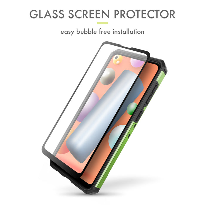 Evocel Samsung Galaxy A11 Explorer Series Pro Green Case