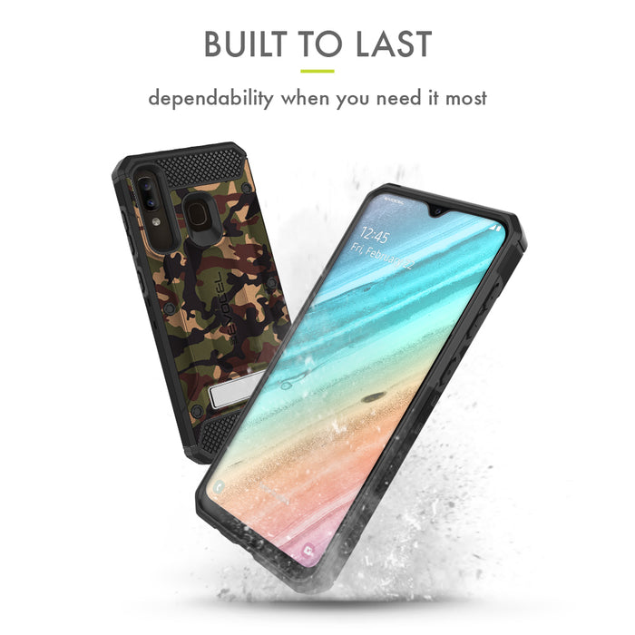 Evocel Samsung Galaxy A20 Explorer Series Pro Camouflage Case