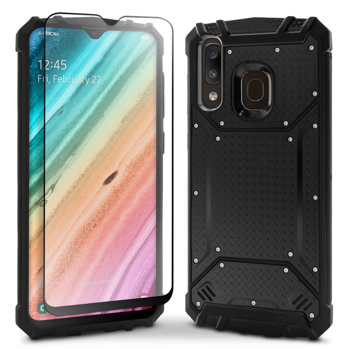 Evocel Samsung Galaxy A20 Magnext Series Black Case