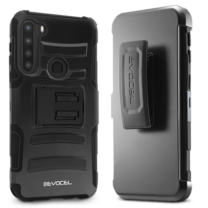 Evocel Samsung Galaxy A21 Generation Series Black Case