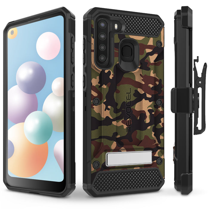 Evocel Samsung Galaxy A21 Explorer Series Pro Camouflage Case