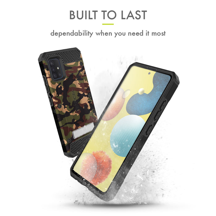 Evocel Samsung Galaxy A51 (5G) Explorer Series Pro Camouflage Case