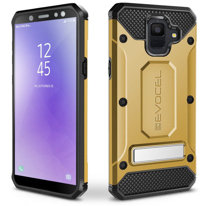 Evocel Samsung Galaxy A6 (2018) Explorer Series Pro Gold Case
