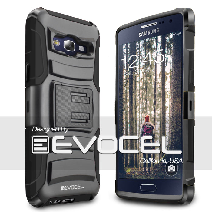 Evocel Samsung Galaxy E5 Generation Series Black Case