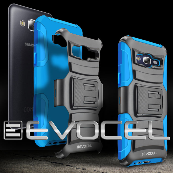 Evocel Samsung Galaxy E5 Generation Series Blue Case