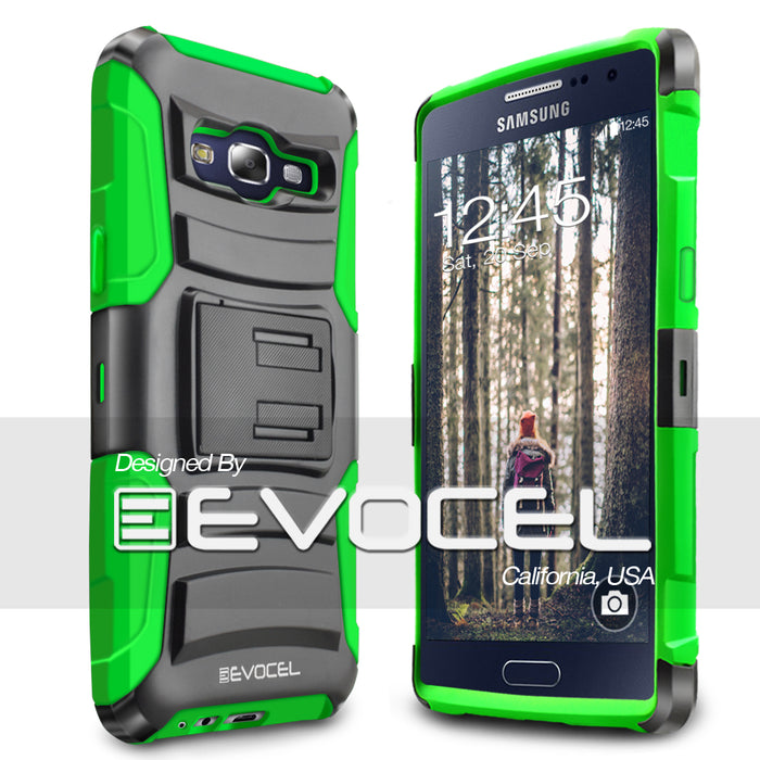Evocel Samsung Galaxy E5 Generation Series Green Case