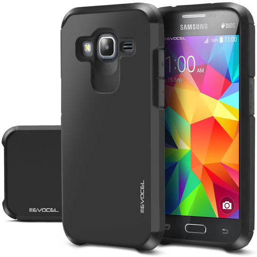 Evocel Samsung Galaxy Core Prime Armure Series Charcoal Case