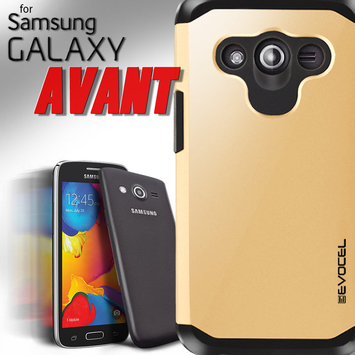 Evocel Samsung Galaxy Avant Armure Series Charcoal Case