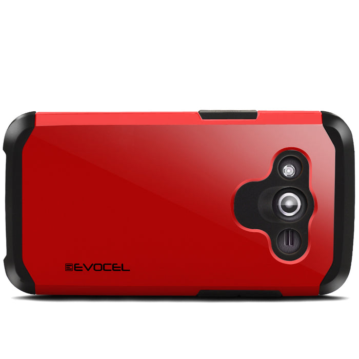 Evocel Samsung Galaxy Avant Armure Series Red Case