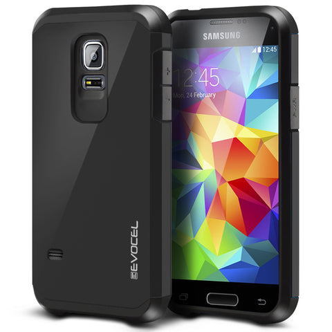 Evocel Samsung Galaxy S5 Mini Armure Series Charcoal Case