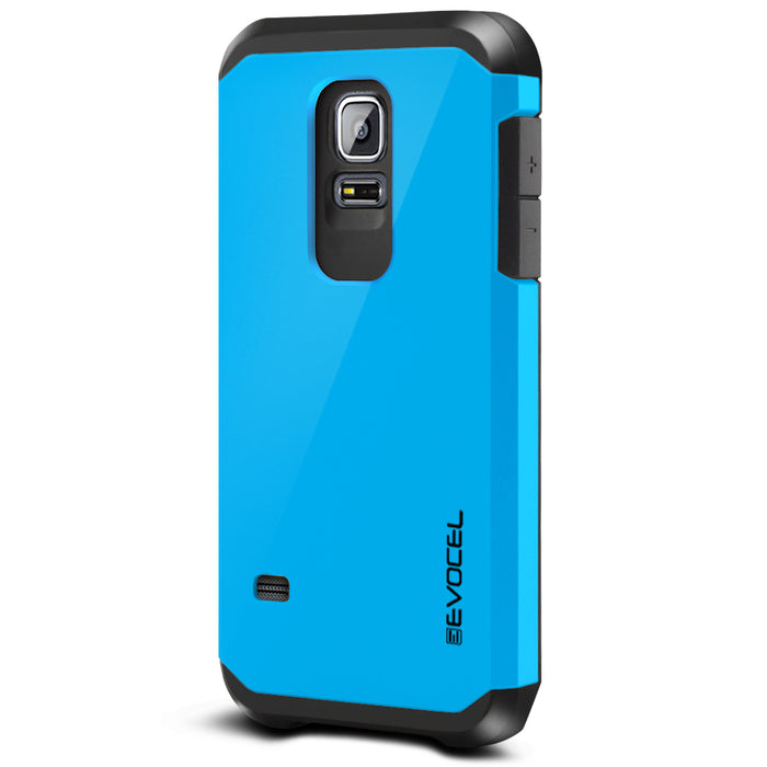 Evocel Samsung Galaxy S5 Mini Armure Series Blue Case